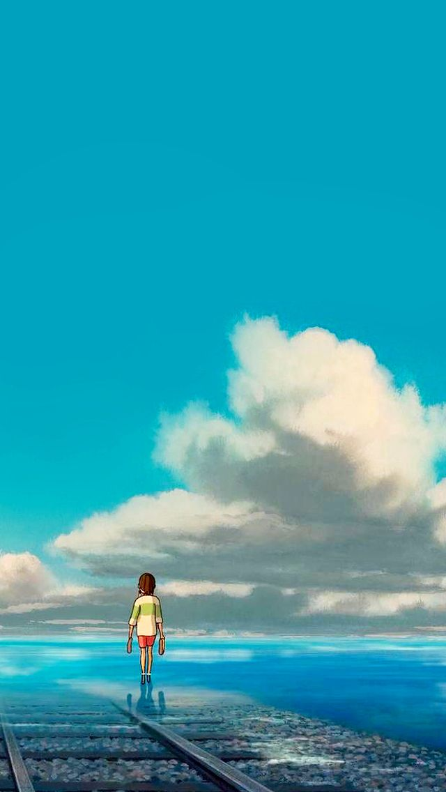 Studio Ghibli Gifs Spirited Away Phone Wallpapers Quality Is Best Studio Ghibli Background Ghibli Art Studio Ghibli Movies