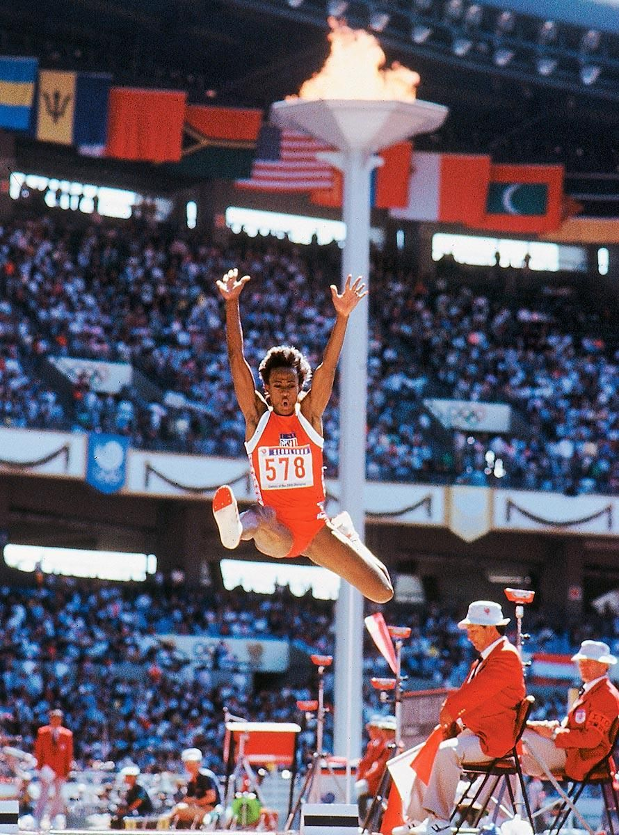 100 Greatest Sports Photos of Alltime 80. Summer