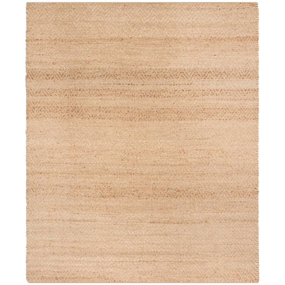 Safavieh Natural Fiber Beige 8 Ft X 10 Ft Indoor Area Rug Nf731a 8 Round Area Rugs Area Rugs Natural Fiber Rugs
