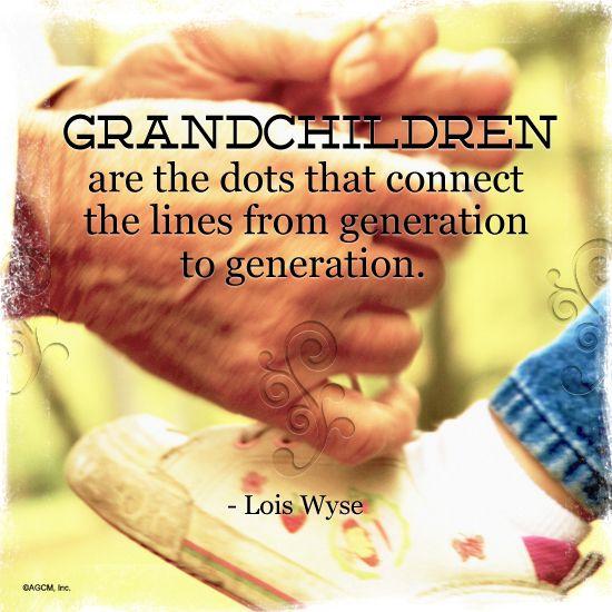 Lois Wyse Quote Family Quotes Grandchildren Grandkids Grandparents