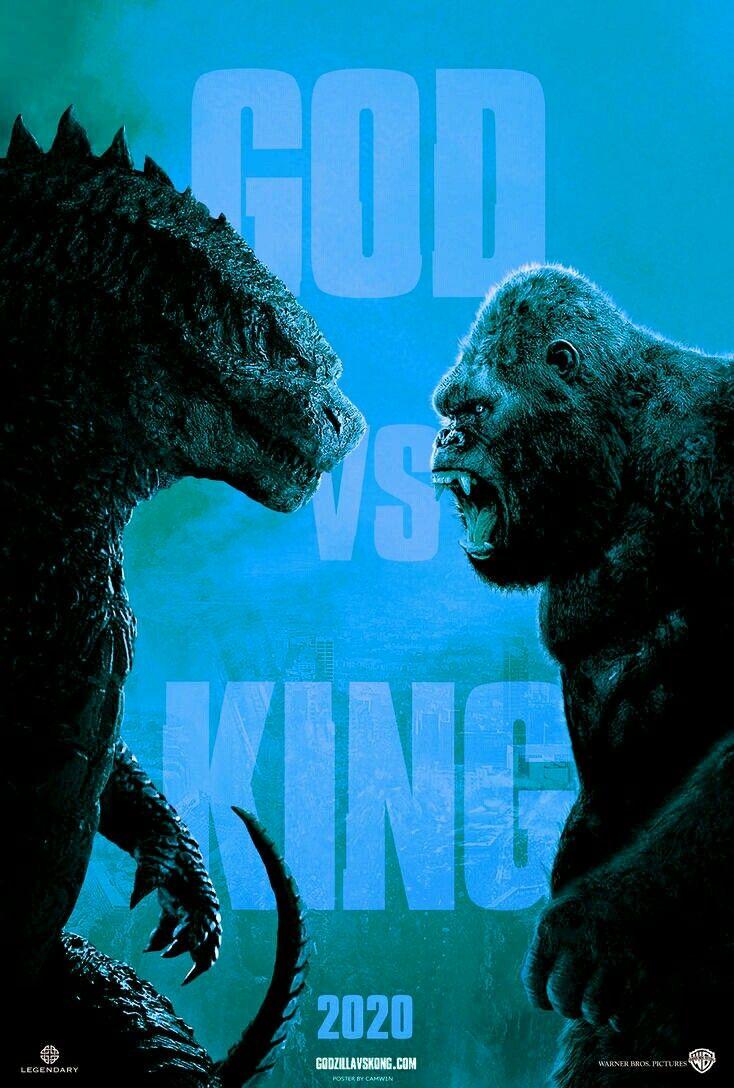 GOD vs KING King kong art, King kong vs godzilla