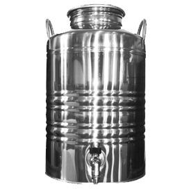 Superfustinox Stainless Steel Fusti With Spigot 12 Liter Water Dispenser Antique Milk Can Making Water