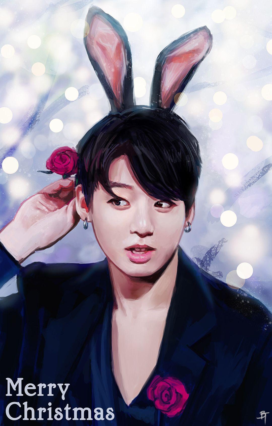 Jungkook Fanart ♥ BTS Fanart Pinterest Fanart, BTS