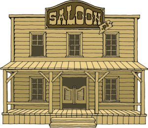 Western Houses Western Saloon Old West Saloon Old Western Towns