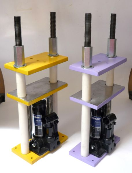 how to use a hydraulic shop press