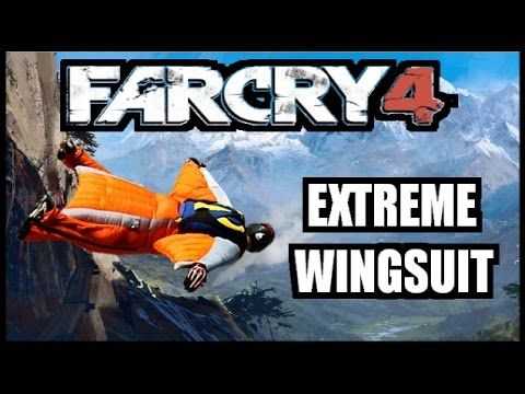 Far Cry 4 - Extreme Wingsuit (Map) #twitch #farcry4 #wingsuit
