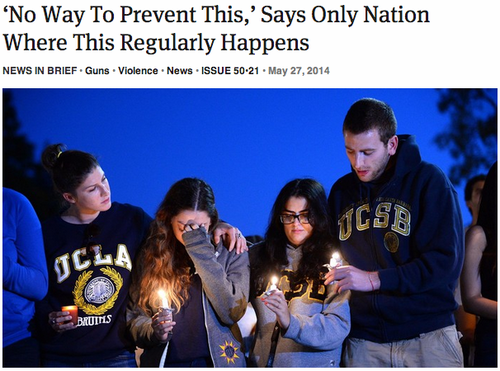 """No Way to Prevent This,"" Says Only Nation Where This Regularly Happens"
