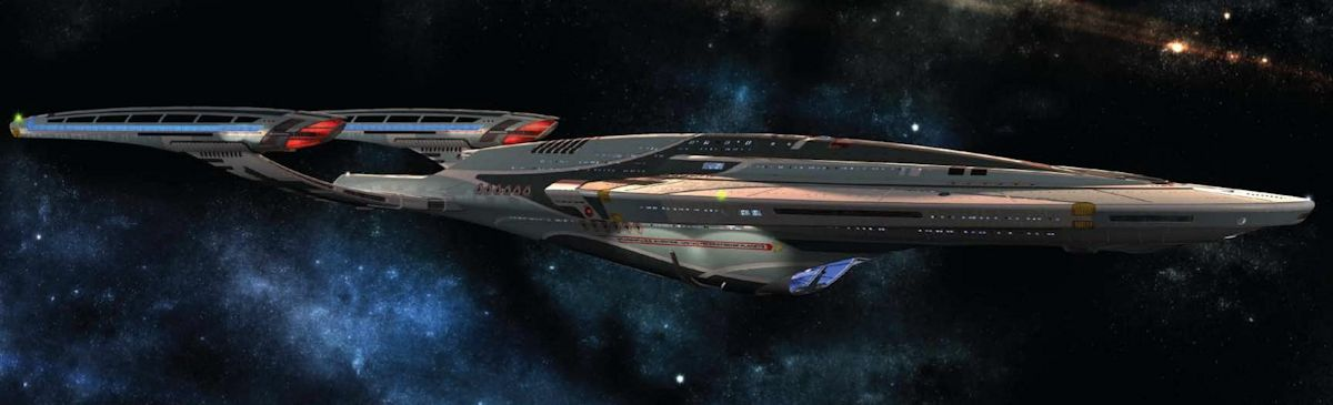 The Vesta-class was type of Federation Starfleet starship in service from the year 2380. The class was designated a multi-mission explorer and was test-bed for a number of experimental technologies, including quantum slipstream drive