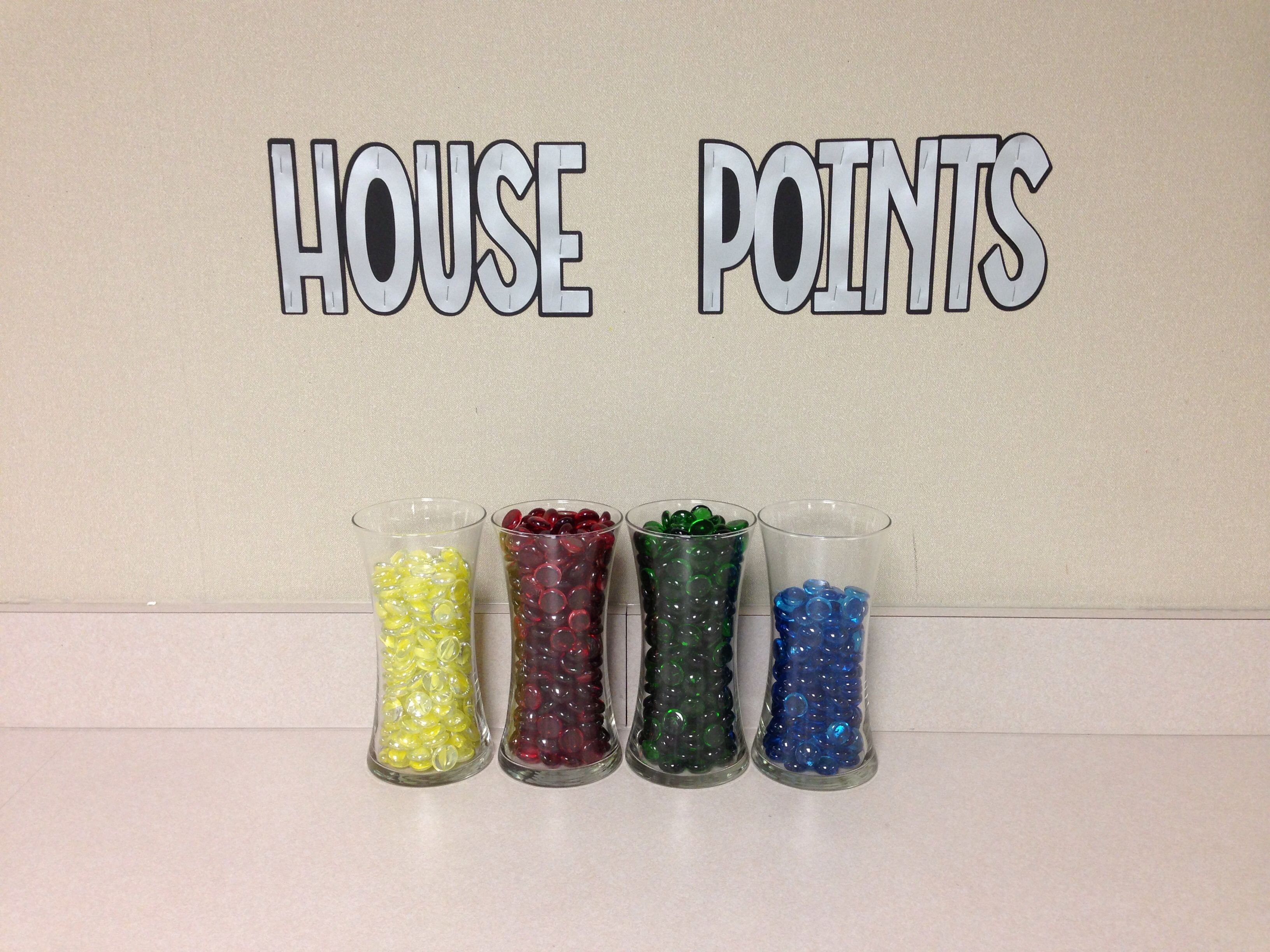 Harry Potter Classroom House Points