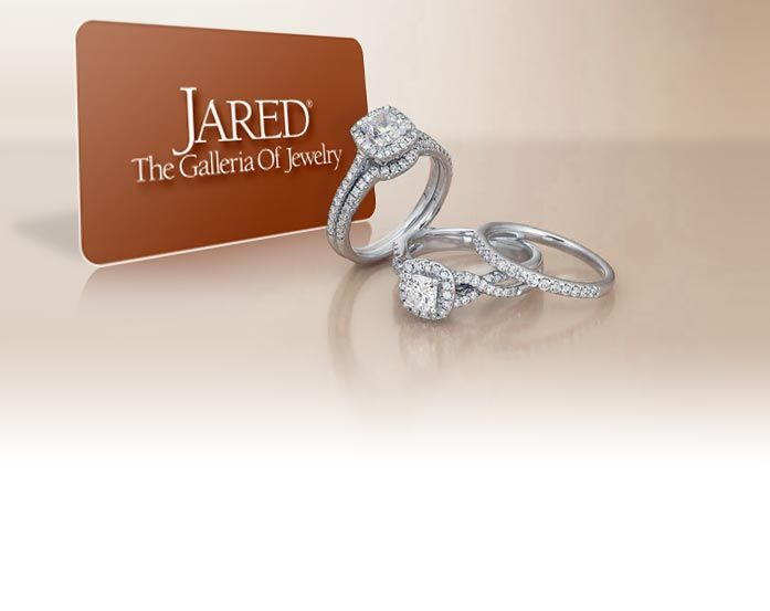 Jared Jewelers can be found on television or in a magazine flaunting