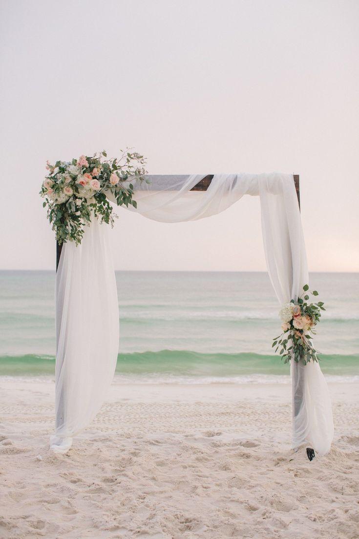 Décoration de mariage de plage simple Inspiration – Mariage – #simple # mariage …   – Blumenkranz Ideen