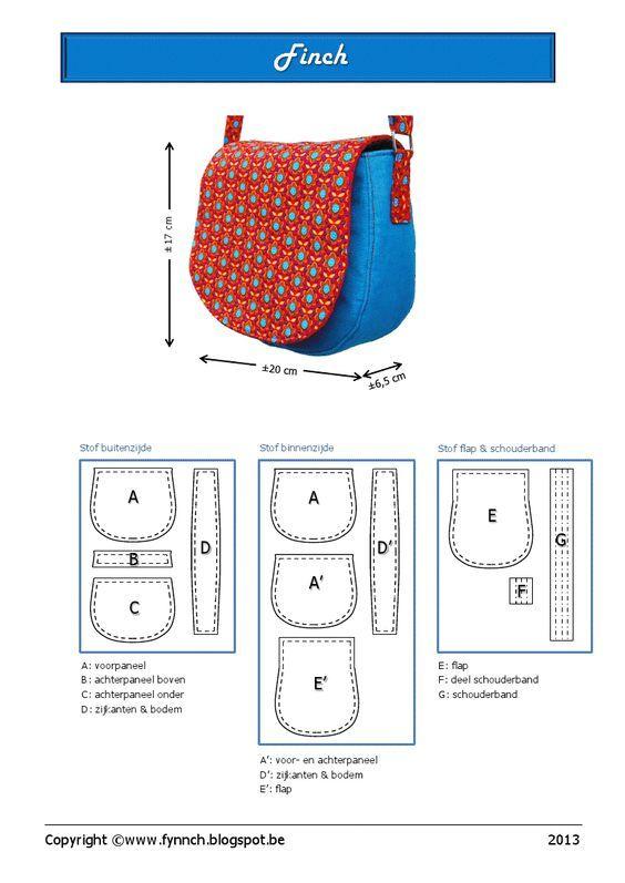 moldes de mochilas escolares de tecido Mais | Bolsas