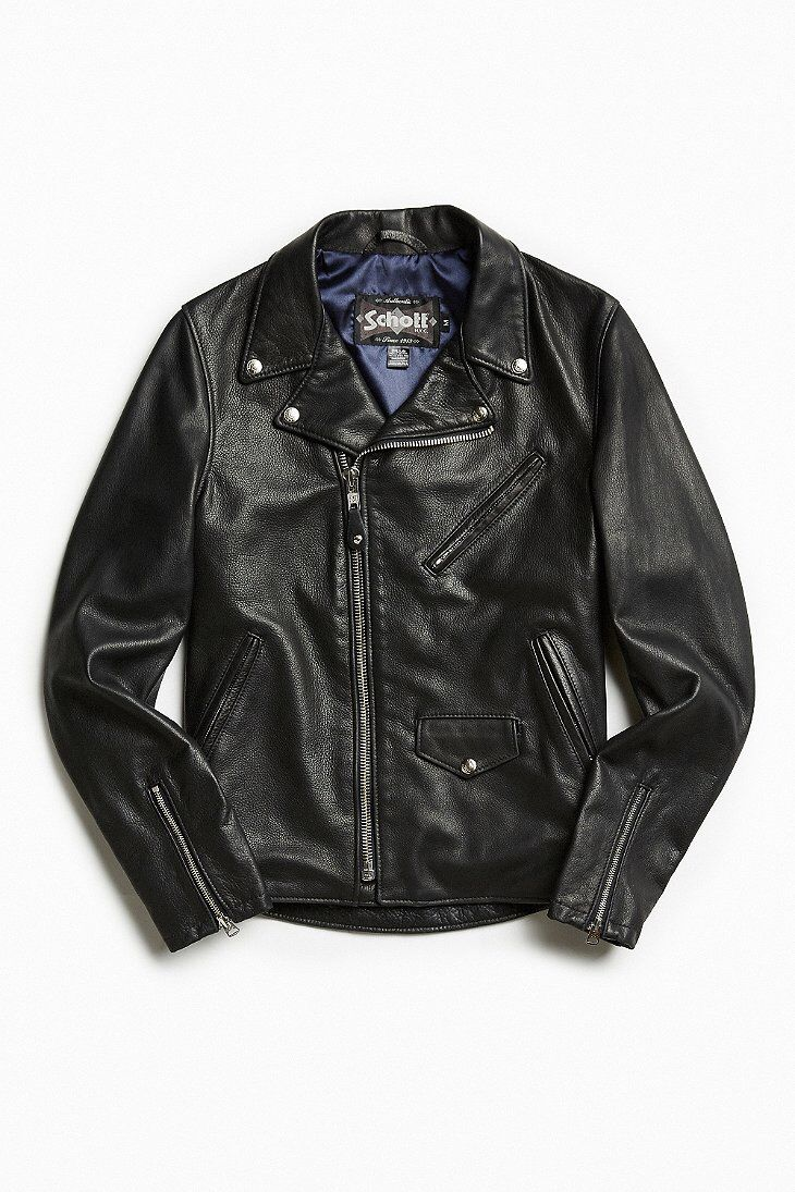b1f678713e9 Schott X UO Pebbled Leather Perfecto Jacket Pebbled Leather