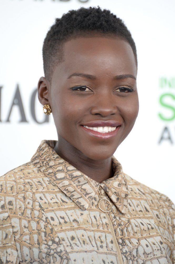 Lupita Nyongo Tiny Afro Pinterest Natural Hair Styles Short