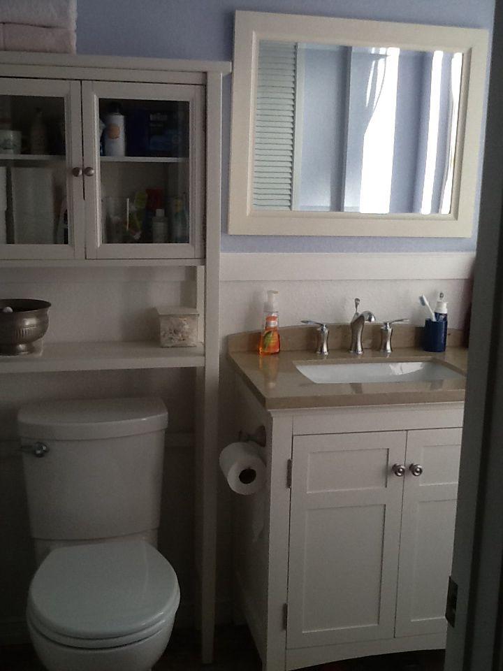 one very small bathroom   Small bathroom, Modern bathroom ...