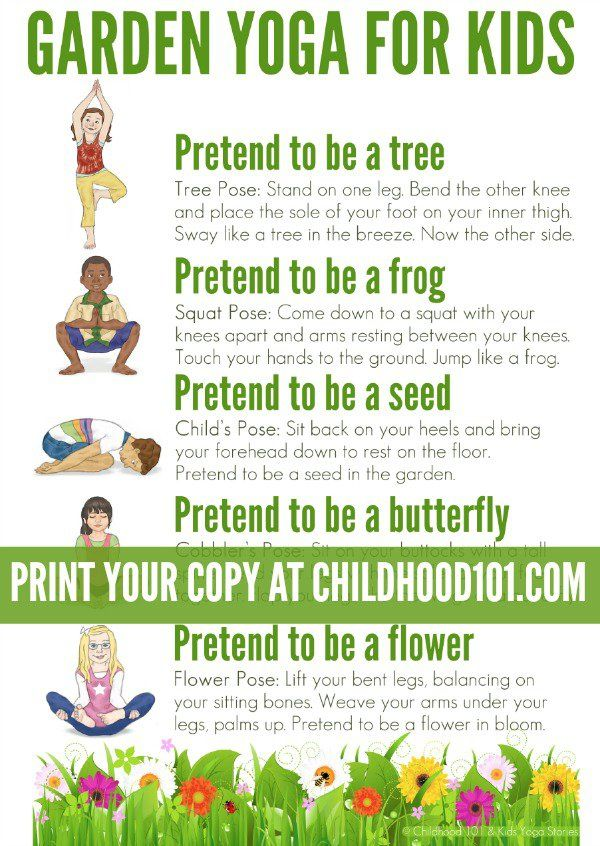 Superior Garden Yoga Printable Poster: Take A Walk Through Nature With This Garden  Themed Yoga Routine For Kids. Suitable For Use Toddlers To School Aged  Children.