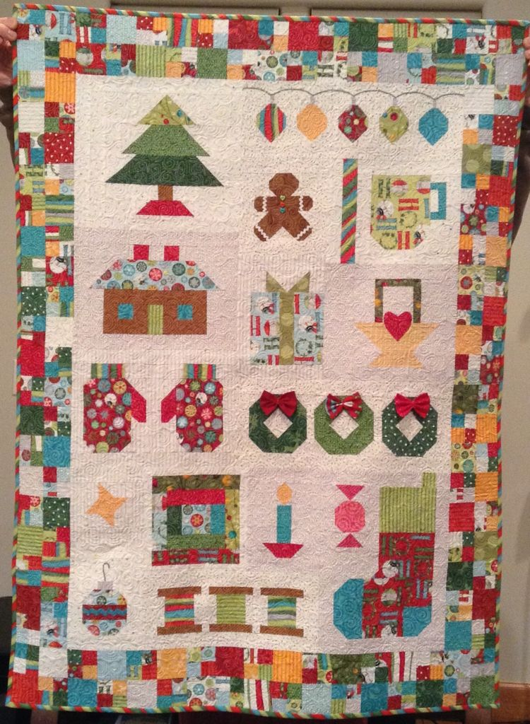 From Have Yourself A Quilty Little Christmas By Lori Holt