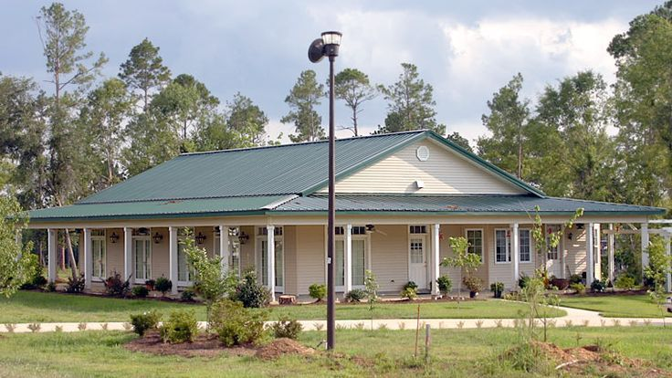 Looks More Traditional Metal House Plans Metal Building Homes Steel Building Homes
