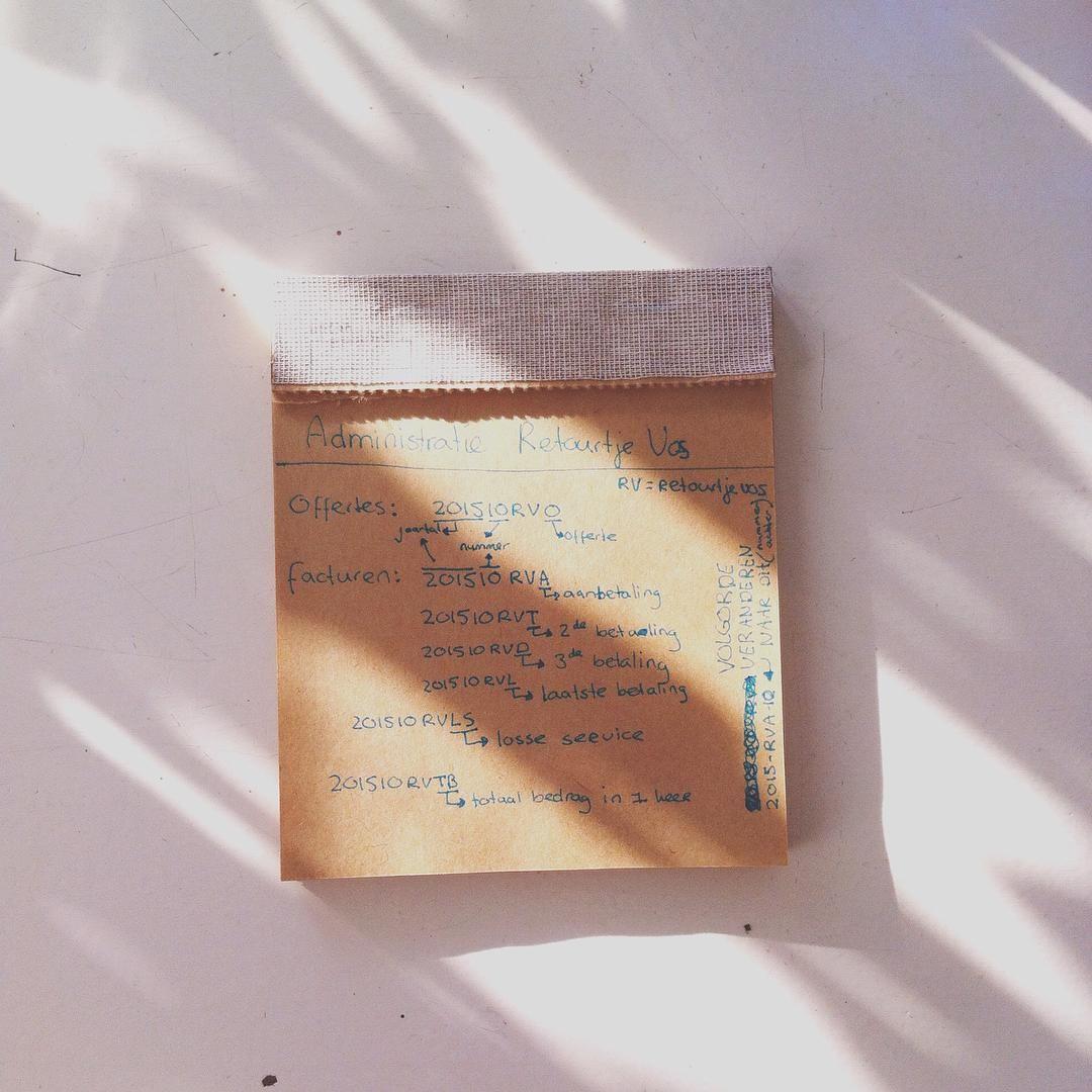 Checklist notepad / stationery