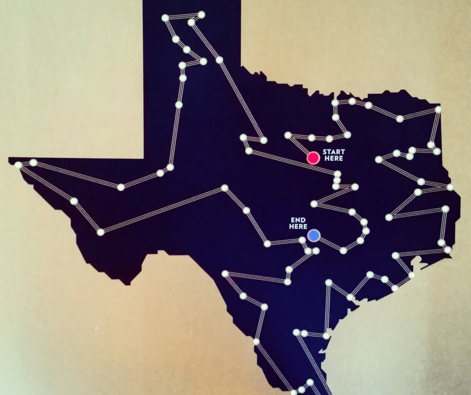 Texas Bucket List Map The Ultimate Texas Road Trip   Texas roadtrip, Explore texas, Road
