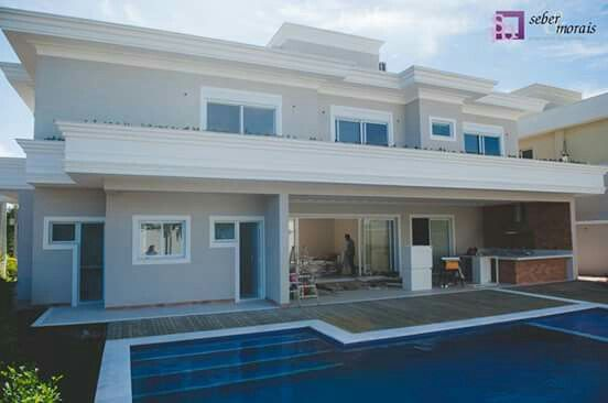 Linda casa contemporânea com 450,00m2 de área construída no Swiss Park em Campinas, SP. Projeto do Arq. Thiago Seber www.sebermorais.com.br