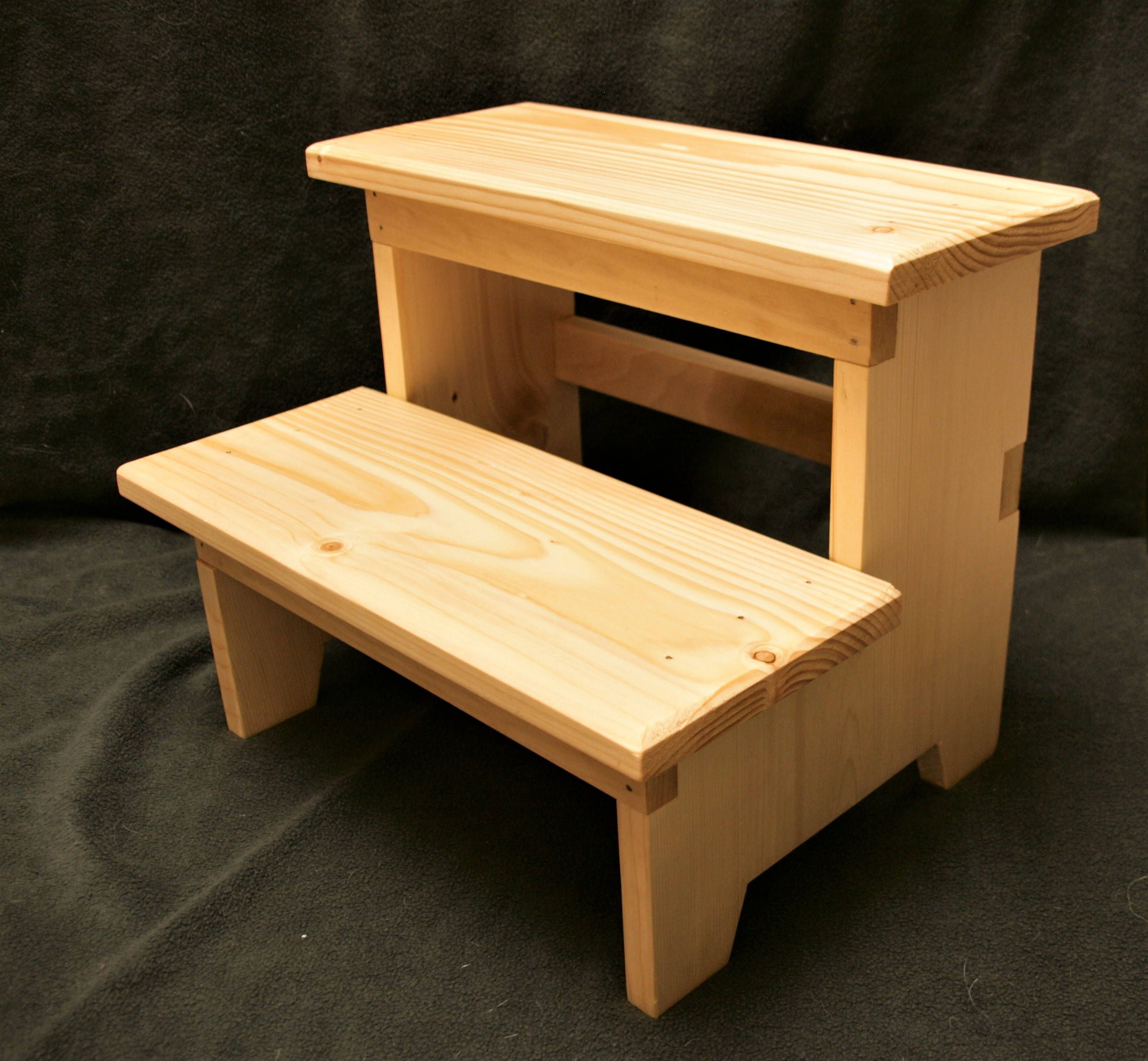 Wood Step Stool Sturdy Step Stool Kids Step Stool