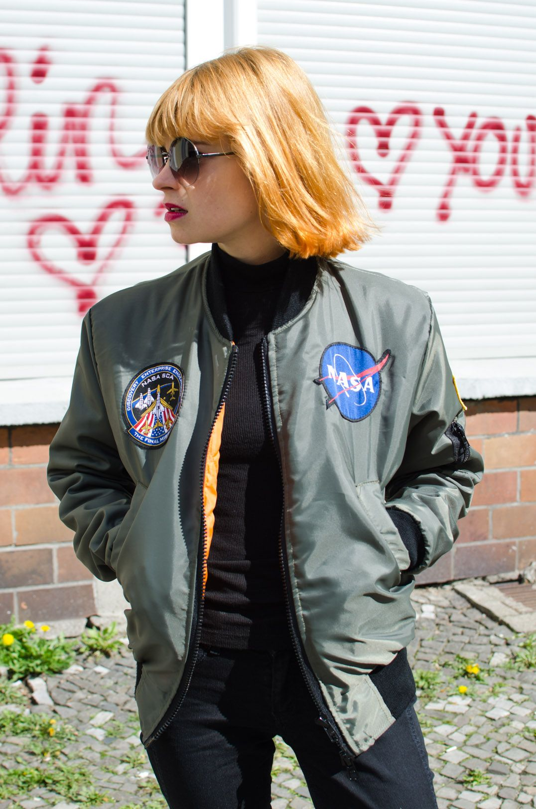 Outfit Patched Bomber Jacket What Pixies Wear Bomber Jacket Bomber Jacket Patches Jackets