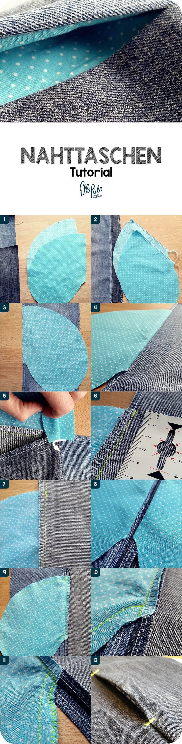 Photo of Tutorial: sewing a seam pocket – side pockets
