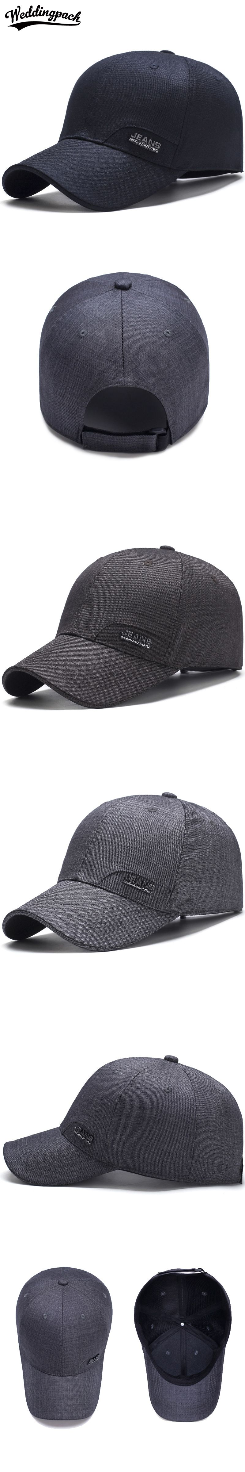 Casual Men Snapback Caps Solid Adjustable Male Caps Summer Autumn Middle  Aged Baseball Cap Spring Thin 3e032c0b0bfd