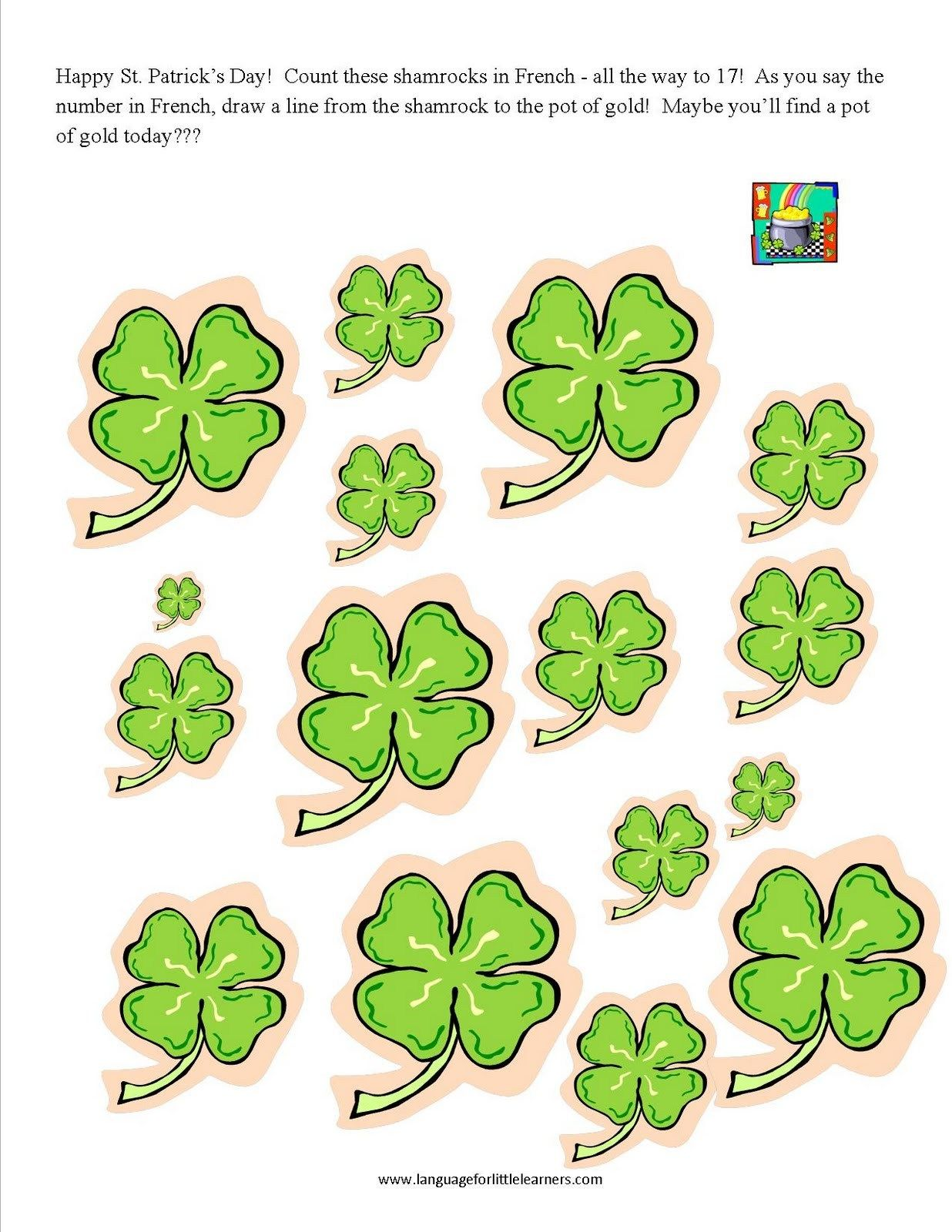 History Of Saint Patrick S Day Worksheet St Patricks Day