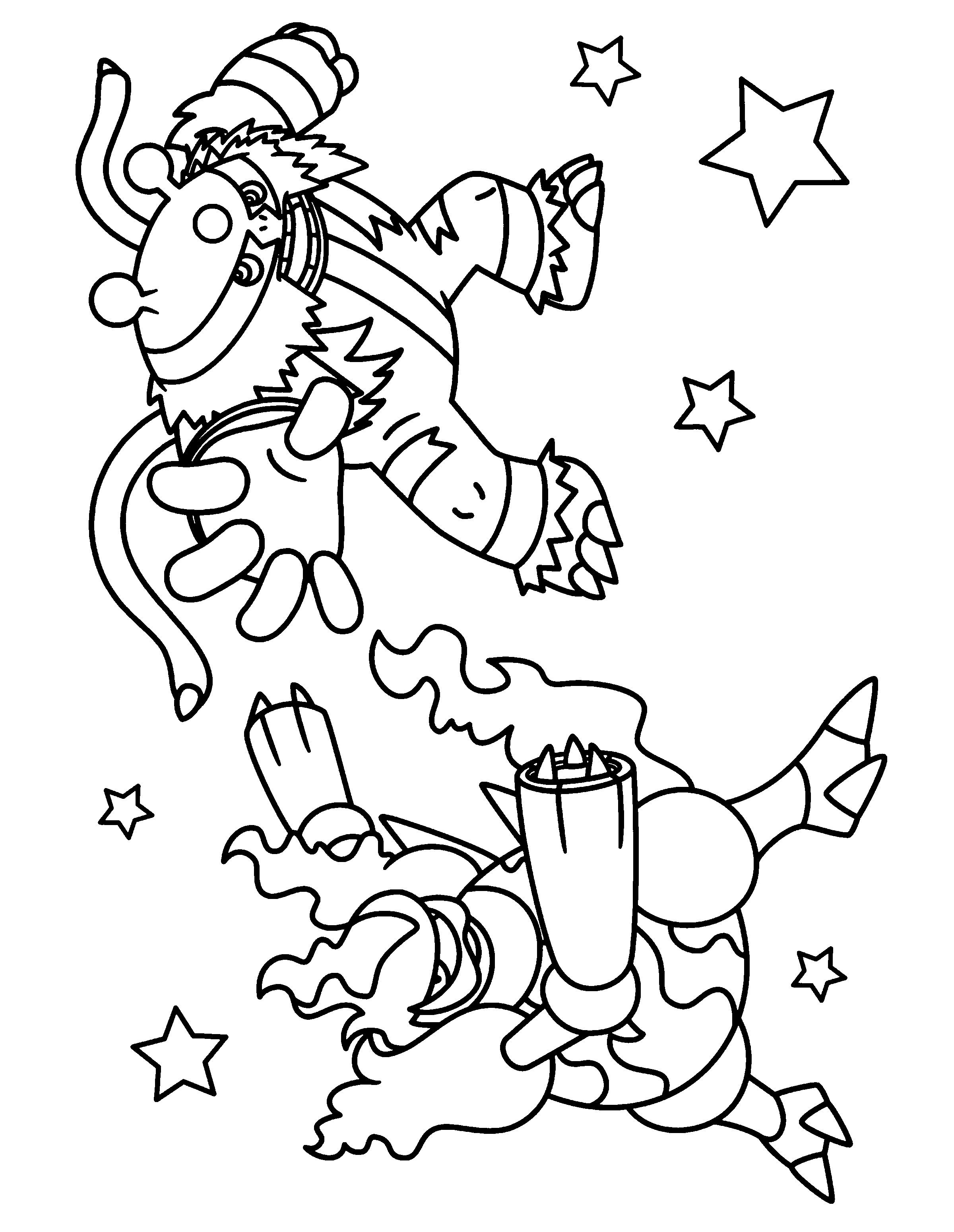 Pokemon Electivire Coloring Pages From the thousands of