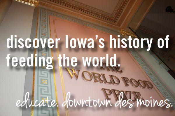 discover Iowa's history of feeding the world.