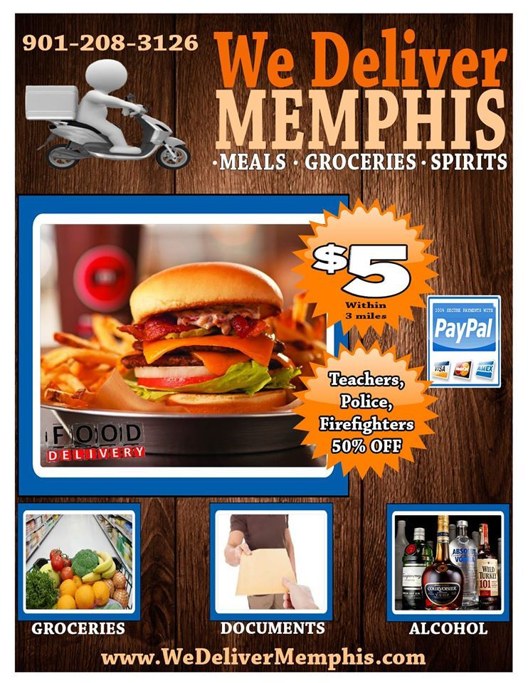 New Food Delivery Service Launches In Memphis Meal Delivery Service Memphis New Recipes