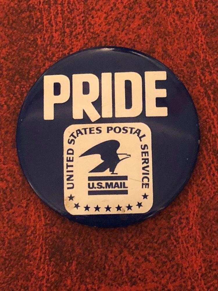 United States Postal Service Usps Pride Pinback Button Pin 2 Ebay Buttons Pinback Pinback Button Pins