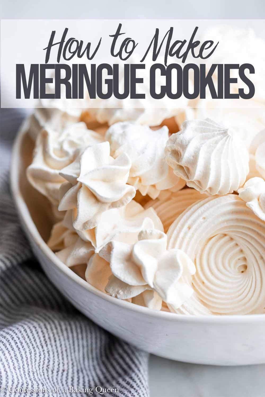 How to make meringue cookies easy