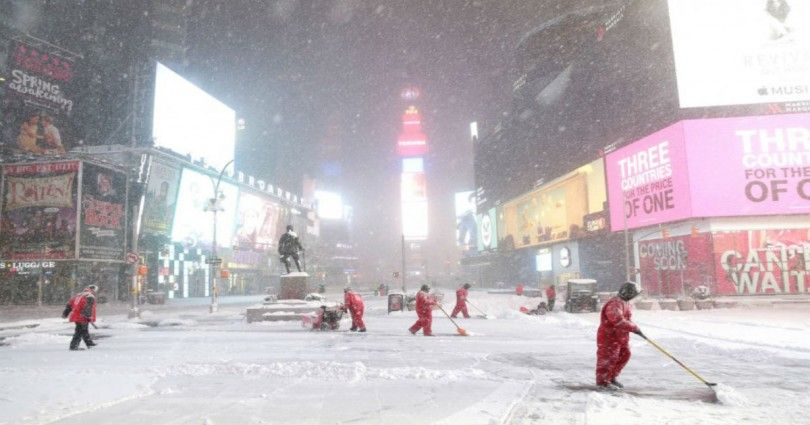 Η πανέμορφη Νέα Υόρκη στα λευκά – 25 φωτογραφίες από τη χιονισμένη μητρόπολη