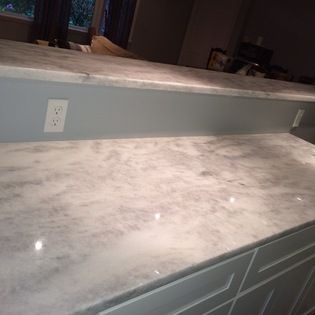 Shadow Storm Quartzite Kitchen Mgc Kitchen Remodel Countertops