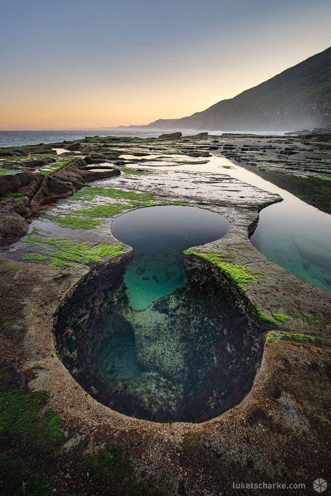 Figure 8 Pool Sunset Royal National Park Travel Up And
