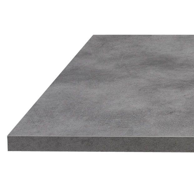 Plan de travail b ton stratifi 38 et 60 mm - Plan de travail gris beton ...