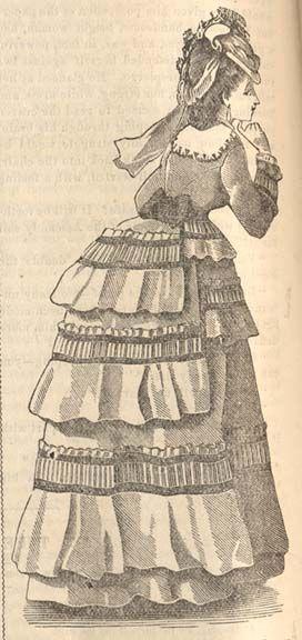 cb2d24704e13 Petersons walking dress 1870 - 1870s in Western fashion - Wikipedia ...