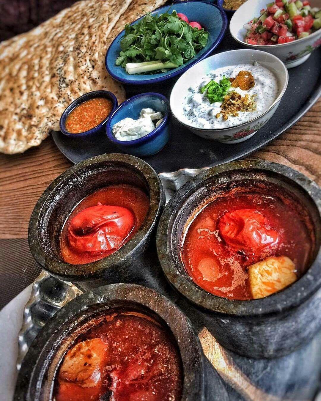 Dizi sangi persian traditional food iranian food and for Ahmads persian cuisine