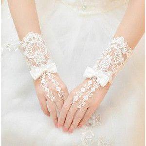 87b2782d4f39f 新作 花嫁 結婚式 披露宴 二次会 手作リ ウェディングドレス プリンセスドレス 素敵 手袋 グローブ glove 飾り物 ブライダル用