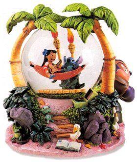 Disney Lilo & Stitch hammock Snowglobe