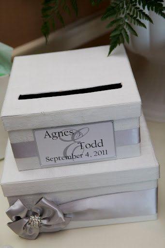 Wedding Card Money Box Gift Reception Holder 9400 Via Etsy