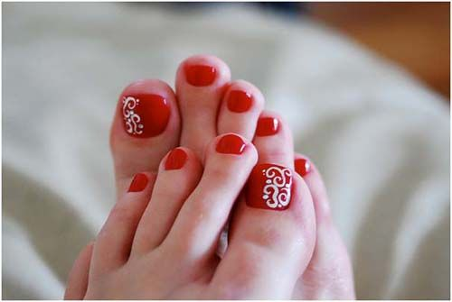9 Simple And Easy Toe Nail Art Designs For Beginners Nails