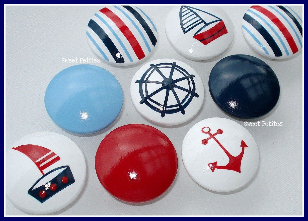 Closet door knobs | Elijah\'s Nautical Nursery (and more) | Pinterest ...