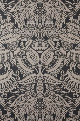 Inspired by the artistic style of the early 18th century Orangerie is bursting with extravagant detail, with an exotic leaf pattern interspersed with floral motifs. Full roll width is 53cm/21