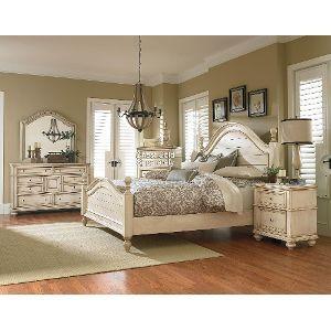 Heritage Antique White 6-Piece Queen Bedroom Set | Home | Pinterest ...