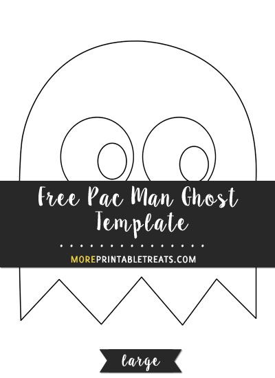 photo about Ghost Template Printable named Pin upon Templates
