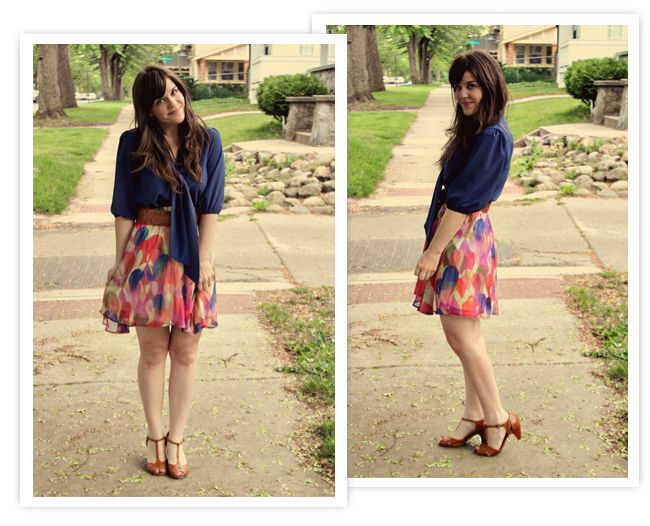 love the skirt and shoes. and the top too :)